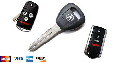 Acura Key San Diego LocksmithAcura Remote Chip Key ProgramCopy - Acura wheel lock key