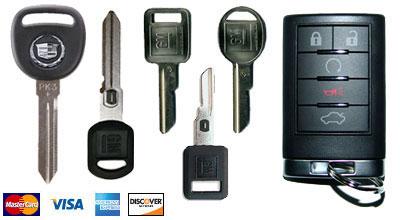Cadillac Key San Diego Locksmith,Cadillac Remote Chip Key