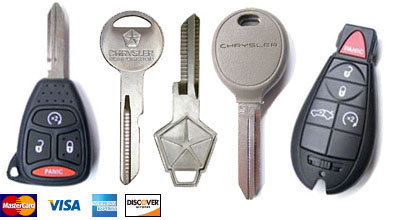 Chrysler Keys San Diego Locksmith