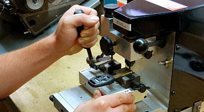 Laser Cut Key San Diego Locksmith Duplicate Sidewinder Key