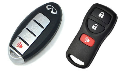 how to change battery infiniti key