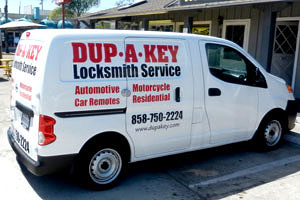 NV of SD locksmith truck