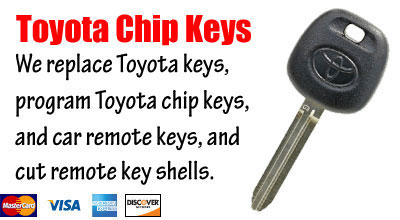 Toyota Keys San Diego Locksmith