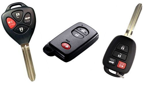 Toyota Key San Diego Locksmith,Toyota Remote Chip Key
